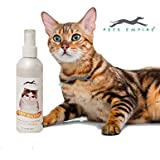Pets Empire New Waterless Cat Shampoo   All Natural Dry Shampoo For Cats No Rinse Required- 250 Ml (Lemon)