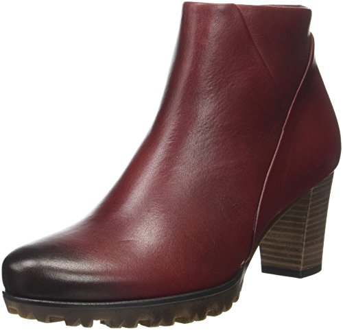 Gabor Shoes Damen Comfort Sport Stiefel, Rot (Dunkel Rot), 41 EU