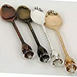 4pcs/lot Dinnerware Europe Classic Europe Style High Quty Coffee Spoon Tea Spoon Cup Accessories KV 045
