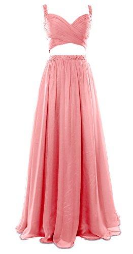 MACloth - Robe - Ajourée - Sans Manche - Femme Rose - Blush Pink