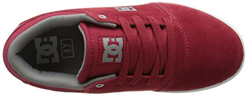 DC Shoes Crisis B Jungen Sneaker Red/Grey NB96T5