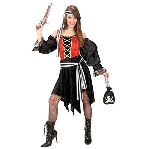 Geldsack Kostüm (Piratenschatz Goldbeutel Piraten Goldsäckchen Pirat Geldbeutel Totenkopf Gold Beutel Piratenparty Goldsack Gold Sack Seeräuber Freibeuter Geldsack Karibik Mottoparty Accessoire Karneval Kostüm)