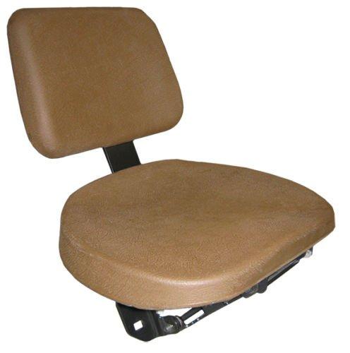 Beifahrersitz Schleppersitz Traktorsitz Notsitz passend John Deere PVC Braun Schlepper Traktor -