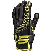 STX Lacrosse Stallion 100guantes - GE ST0F 01 BK/YW, S, Negro / Amarillo