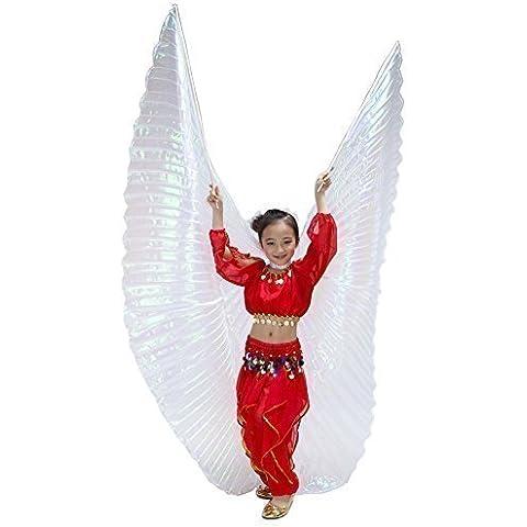 Dance Fairy Bambini di filato colorato bianco esotico di danza