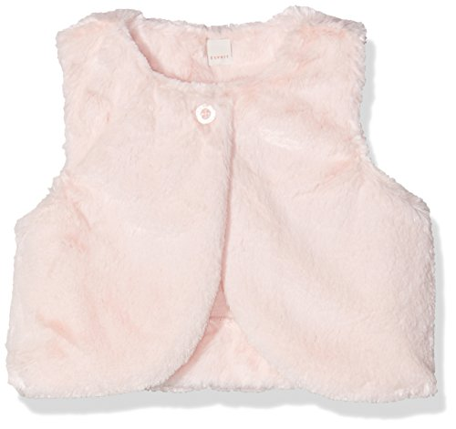 Esprit Kids Baby-Mädchen Weste Jacke, Rosa (Light 690), 86