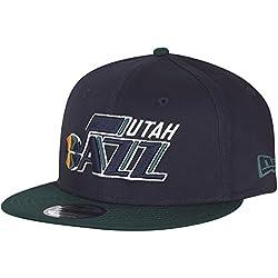 New Era NBA Utah Jazz Team 9Fifty Adjustable Snapback Cap S-M