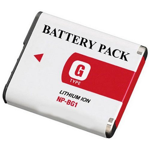 Replacement Sony NP-BG1-Equivalent Lithium Ion Camera Battery For Sony DSC  available at amazon for Rs.1499