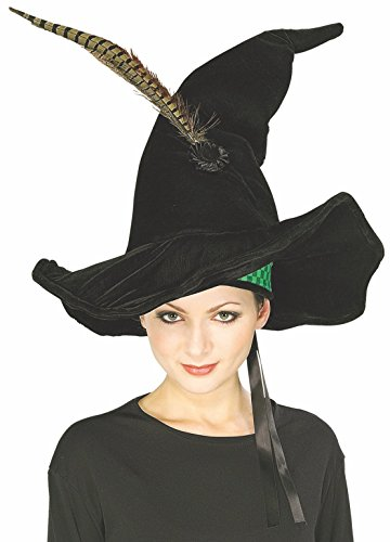 Click for larger image of Rubie's Costume Co Harry Potter Mcgonagall's Hat With Feather