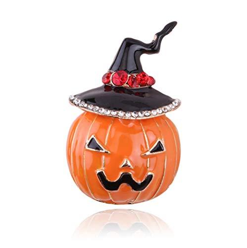 BROHALF Broschen Für Kleidung Halloween-Kürbis-Anzug Modellierung Bekleidungszubehör Corsage Brosche