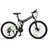 NZ-Children's bicycles Frein à Disque Shimano à 24 Vitesses, VTT, 26'avec Cadre de...