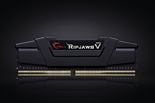 Cheapest Price for G.SKILL Ripjaws V Series F4-3000C14D-32GVK 32 GB (16 GB x 2) DDR4 3000 MHz CL14 Memory Kit – Classic Black Special