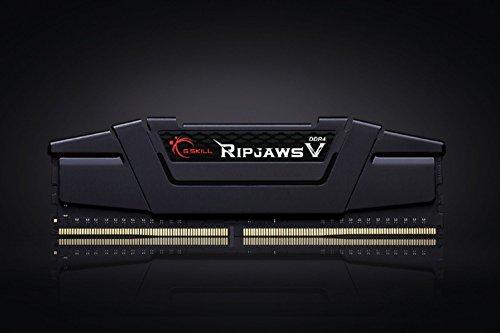 G.SKILL Ripjaws V Series F4-3000C14D-32GVK 32 GB (16 GB x 2) DDR4 3000 MHz CL14 Memory Kit - Classic Black