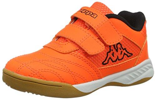 Kappa Kickoff, Scape per Sport Indoor Unisex-Bambini, Arancione (Orange/Black 4411), 26 EU