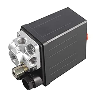 Heavy Duty 240 V 16A Auto Control Auto Laden/Entlasten Kompressor Druckschalter Steuerventil 90 PSI -120 PSI