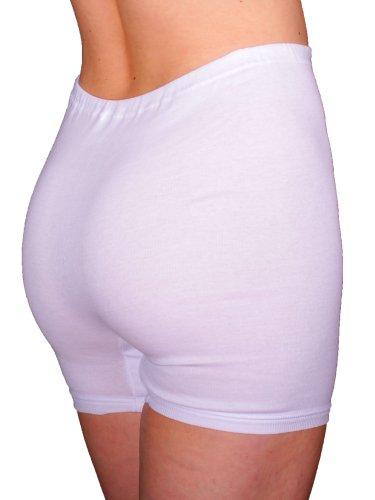 3er Pack Damen Taillen Slips mit Bein ohne Seitennähte (Schlüpfer, Unterhose) Nr. 203 - 2