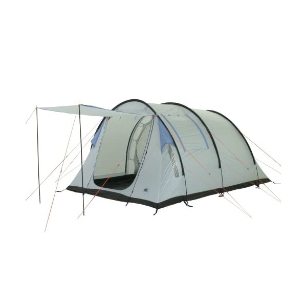 10T Outdoor Equipment Waterproof Salton Unisex Outdoor Tunnel Tent available in Blue - 4 Persons 1