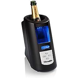 Rafraîchisseur de Bouteilles ECHANSON2 - Climadiff - Rapidité de Refroidissement - Simplicité d'Utilisation - Températures Prédéfinies pour Chaque Type de Vin