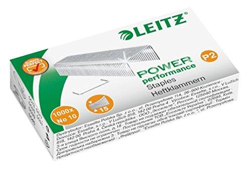 Leitz Heftklammer, No. 10, verzinkt, 5000 Stück