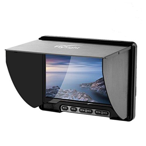 Preisvergleich Produktbild Flysight Black Pearl RC801 LR/Lite Screen HD LCD Monitor with Integrated Battery