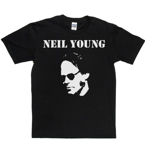 Neil Young 1 Canadian Singer 1960s 60s Rock T-shirt