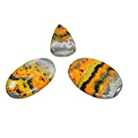 Natural Bumblebee Cabochon Set Of 3 Chakra Healing Crystal, Meditation Stones, Yoga Crystals, Spirituality Stones... preisvergleich bei billige-tabletten.eu