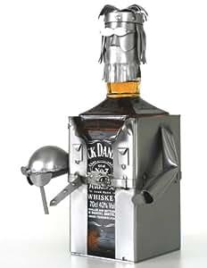 Figurine métallique Porte bouteille SPECIAL WHISKY RECT en acier