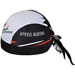 iCreat Bandana Cap Kopftuch Bikertuch mit UV Erwachsene Fahrrad Schutz