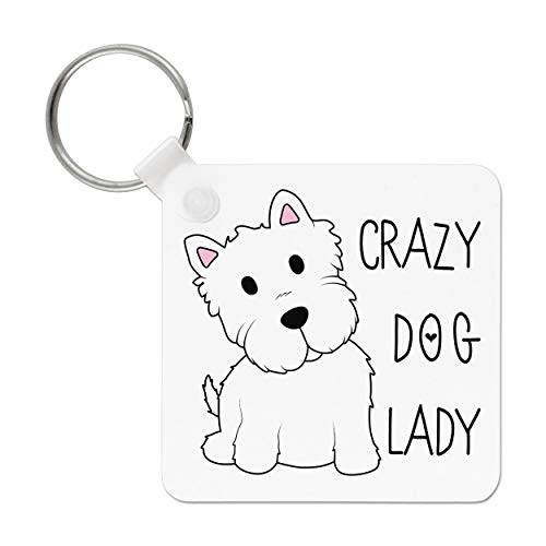Crazy Hund Lady Schlüsselanhänger (Crazy Dog Lady-spielzeug)
