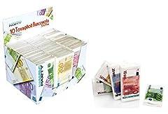 Idea Regalo - 3 X TOVAGLIOLI CARTA BANCONOTE EURO
