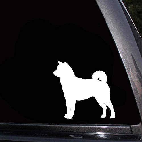 10,2x9,5 cm shiba inu hund auto aufkleber auto abdeckung kratzer dekoration zubehör auto aufkleber für auto laptop fenster aufkleber