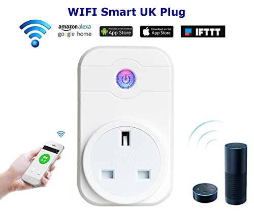 Smart Plug WiFi wireless switch Outlet timer, funziona con ALEXA, Phone iOS...