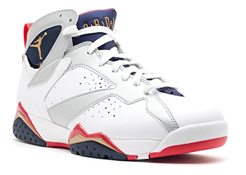 on sale cea6f 4985c AIR JORDAN 7 RETRO  OLYMPIC 2012 RELEASE  - 304775-135 - SIZE 12 - Buy  Online in Oman.   Apparel Products in Oman - See Prices, Reviews and Free  Delivery in ...