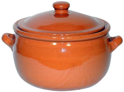 Amazing Cookware Natural Terracotta 1.5 Litre Stew Pot