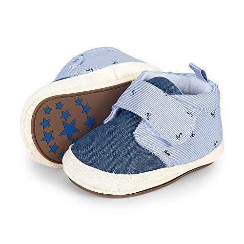 Sterntaler Jungen Baby-Schuh Slipper, Blau (Himmel 325), 20 EU
