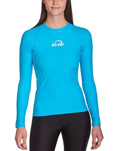 iQ UV 300 Shirt eng geschnitten, langarm, UV-Schutz T-Shirt, Turquoise, S, 6661222518-38