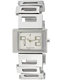 Fastrack Upgrade-Party Analog White Dial Women's Watch -NK2404SM01