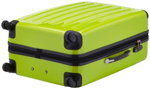 HAUPTSTADTKOFFER - Alex - Hartschalen-Koffer Koffer Trolley Rollkoffer Reisekoffer Erweiterbar, 4 Rollen, TSA, 75 cm, 119 Liter, Apfelgrün - 5