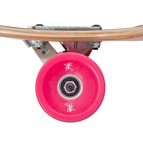Apollo Longboard Fidji Flex III Special Edition Komplettboard mit High Speed ABEC Kugellagern, Drop Through Freeride Skaten Cruiser Boards -