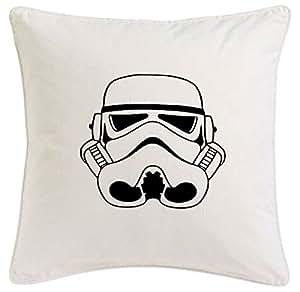 taie d'oreiller 40x40cm Stormtrooper Star Wars Jedi Luke Joda Darth Vader microfibre ... cadeau idéal et décoration de bon goût pour chaque salon ou la chambre