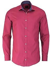 VENTI Slim Fit Hemd mit extra langen Arm Popeline azalee AL 69