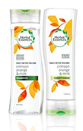 herbal-essences-daily-detox-volume-shampoo-and-conditioner-with-crimson-orange-and-mint-bundle-with-
