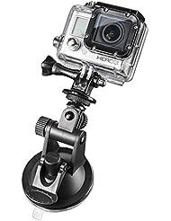 Mantona Saugnapf Mini (mit 1/4 Zoll Gewinde und GoPro Anschluss, geeignet für GoPro Hero, Leichte Digital-, Kompaktkameras und Smartphones)