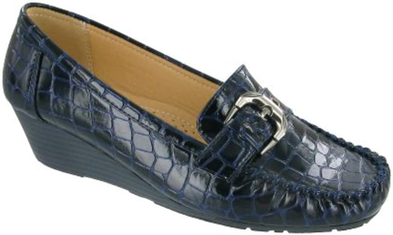 Amblers Kensington Zapatos sin cordones para mujer. Zapatos de señora