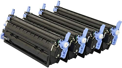 TONER EXPERTE® 4 Toner kompatibel zu HP Q6000A Q6001A Q6002A Q6003A für HP Laserjet 1600 2600 2600n 2600dn 2605 2605dn CM1015 CM1017 MFP (Schwarz: 2500 & Cyan, Magenta, Gelb: 2000 Seiten) -