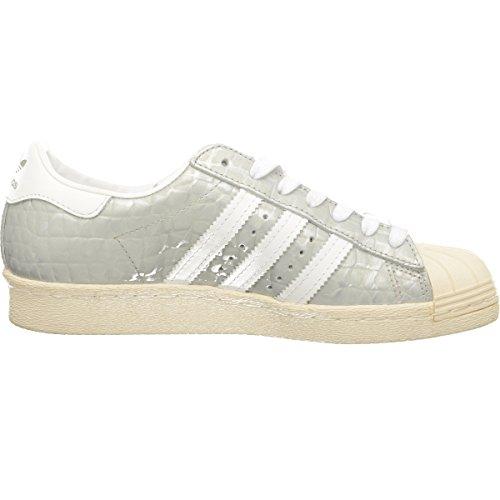 Adidas Superstar 80's Donna Sneaker Metallico Metallisch