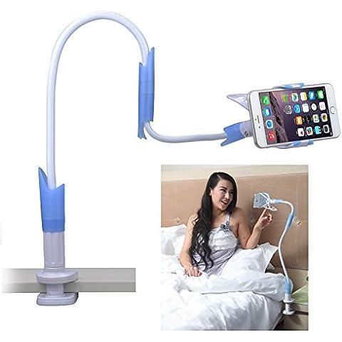 Avantree Soporte Téléphone Movil, Sostenedor Flexible Pince pour Smartphone Support Paresseux Extra Long iPhone 6 plus/6/5s/4, Chambre à Coucher, Bureau, Toilettes, Cuisine, et