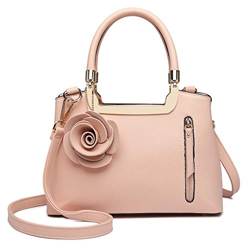 Miss Lulu Ladies Fashion Handbag - Pattern Dark Blue