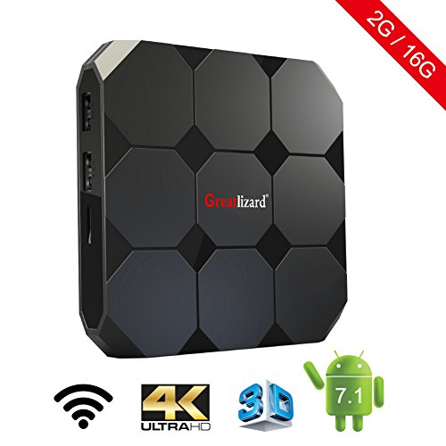 A95X R2 Smart TV Box Android 7.1 2GB/16GB Quad Core 4K HD WiFi & LAN VP9 DLNA