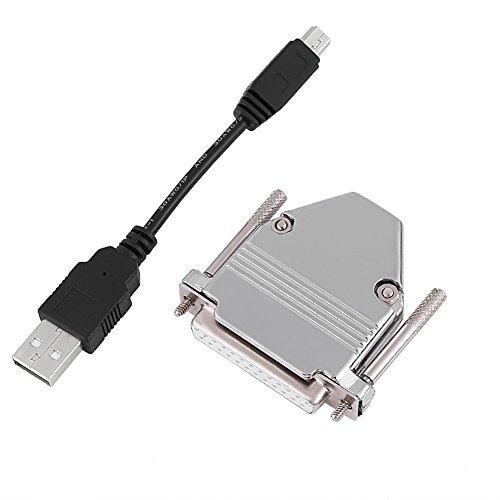1 STÜCK 10 cm USB Kabel + 25 Pin USB Zu Parallel Adapter Konverter CNC Controller für Mach3
